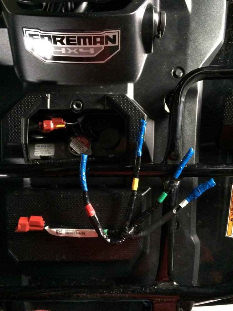 31546d1446930543 sub harness accessory trx 500 001 sub harness accessory honda foreman forums rubicon, rincon honda pioneer 500 wiring harness at gsmx.co