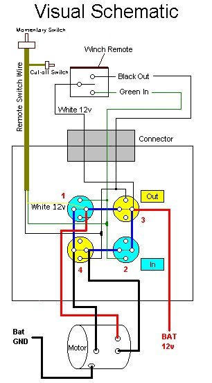 honda 2000 atv winch wiring diagram winch wiring honda foreman forums  winch wiring honda foreman forums