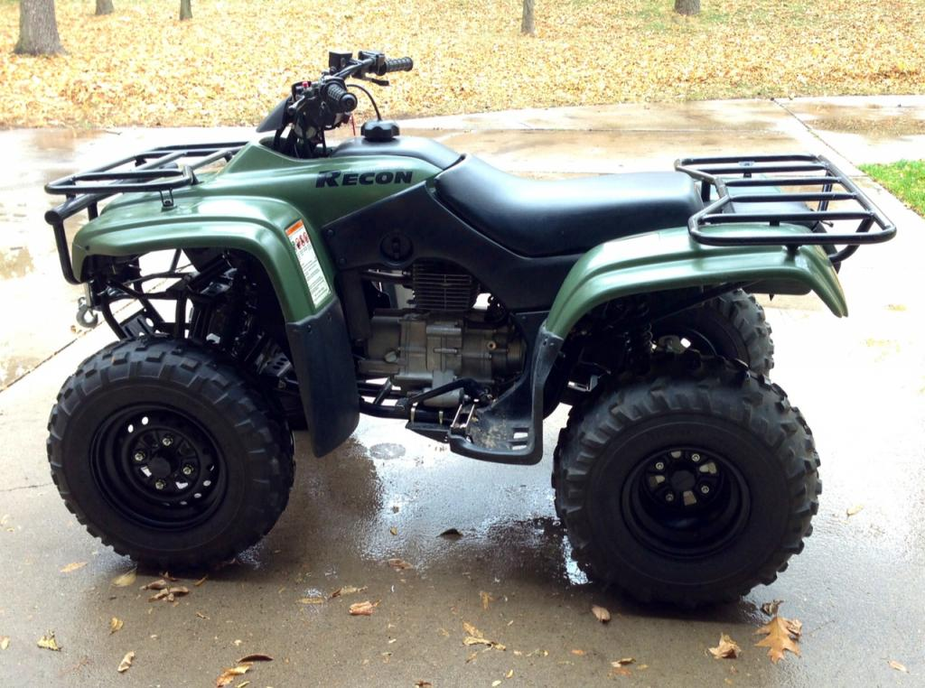 Painted my wheels - Honda Foreman Forums : Rubicon, Rincon ...