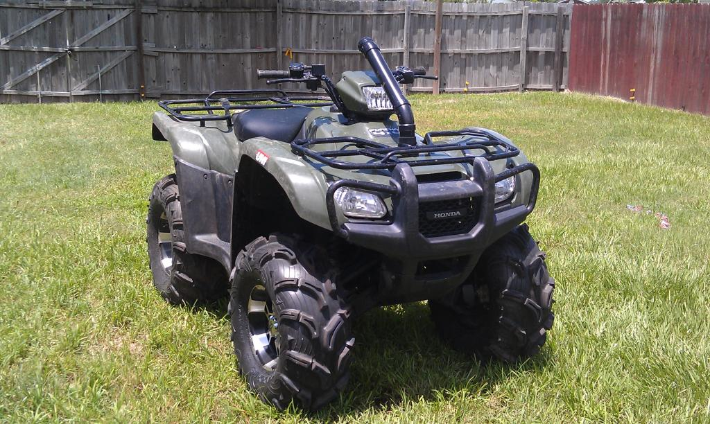 Honda Rancher For Sale >> custom 2 inch snorkel DONE!!! - Honda Foreman Forums : Rubicon, Rincon, Rancher and Recon Forum