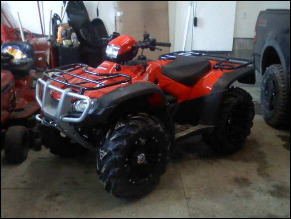 New Wheels And Tires Are On Page 2 Honda Foreman