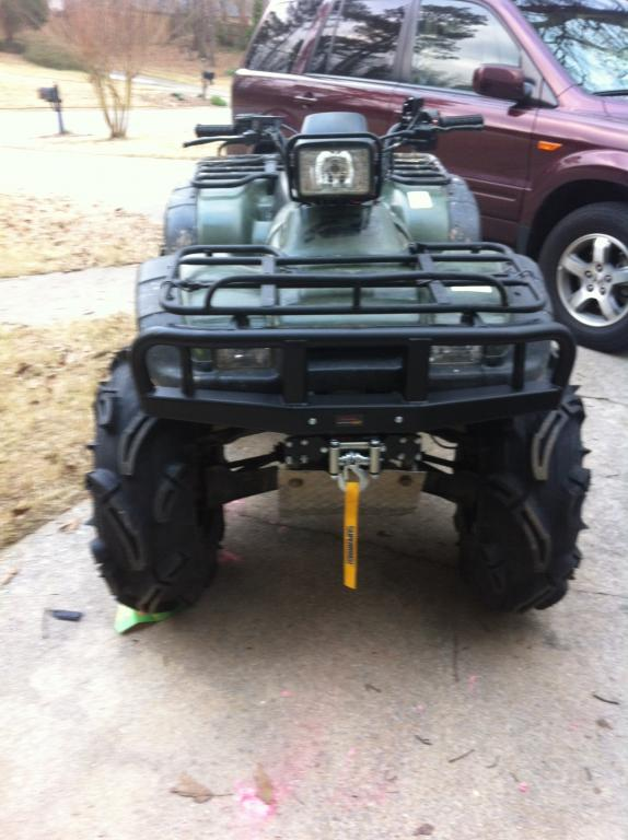 04 450 Need Bumper But What Options Honda Foreman Forums