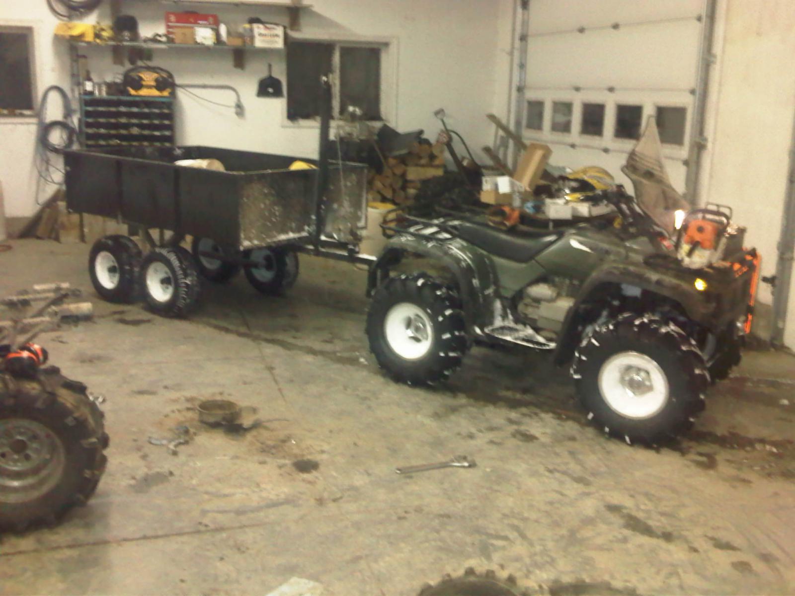 ATV Dump Trailer - Honda Foreman Forums : Rubicon, Rincon, Rancher and Recon Forum